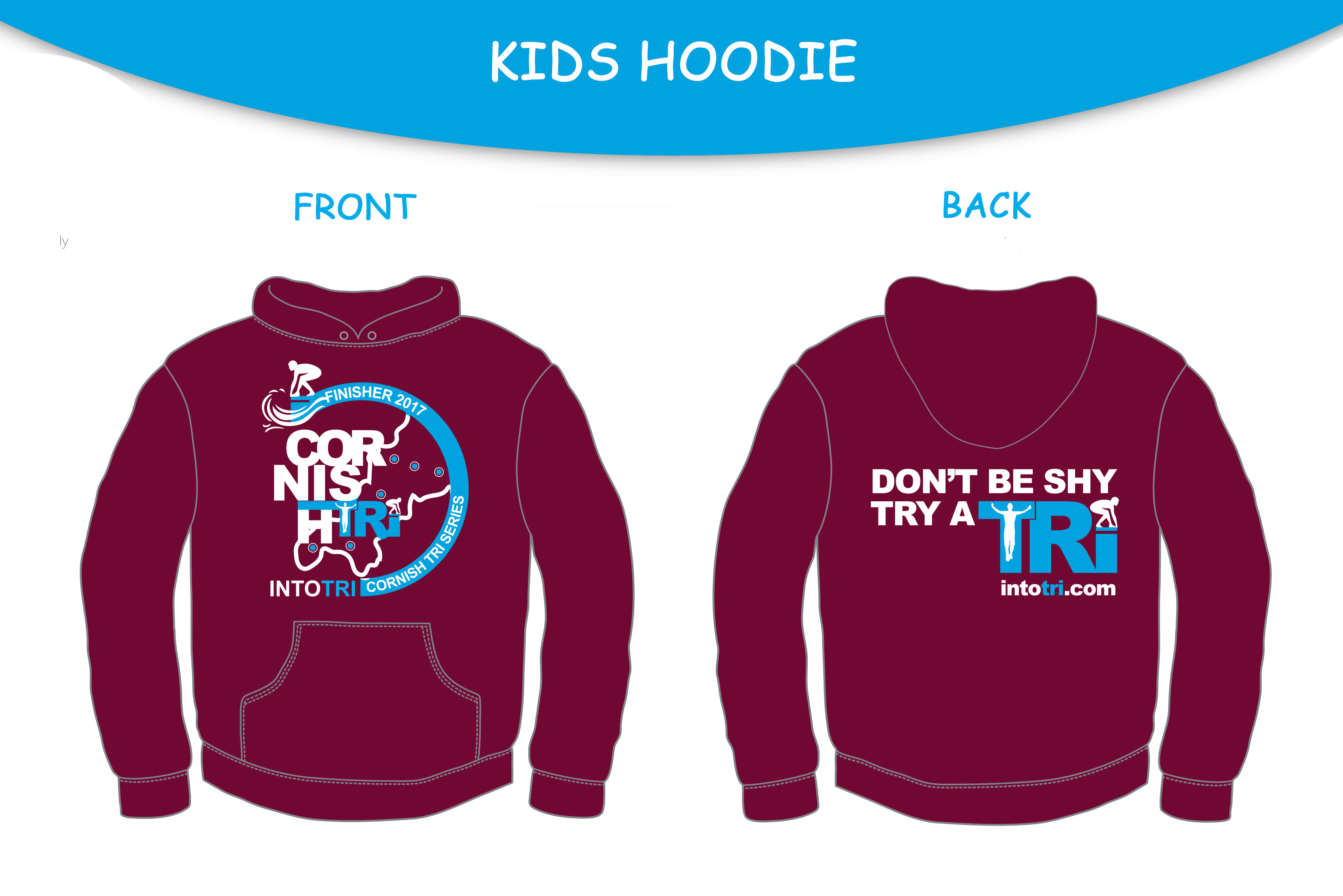 Cornish Tri Series - Hoody & T-Shirt Artwork V5
